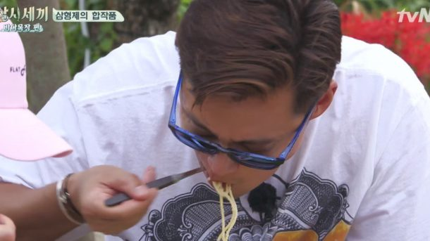 0f0b8a01c00d Lee Seo Jin, Eric, & Yoon Kyun Sang say goodbye to 'Three Meals a ...