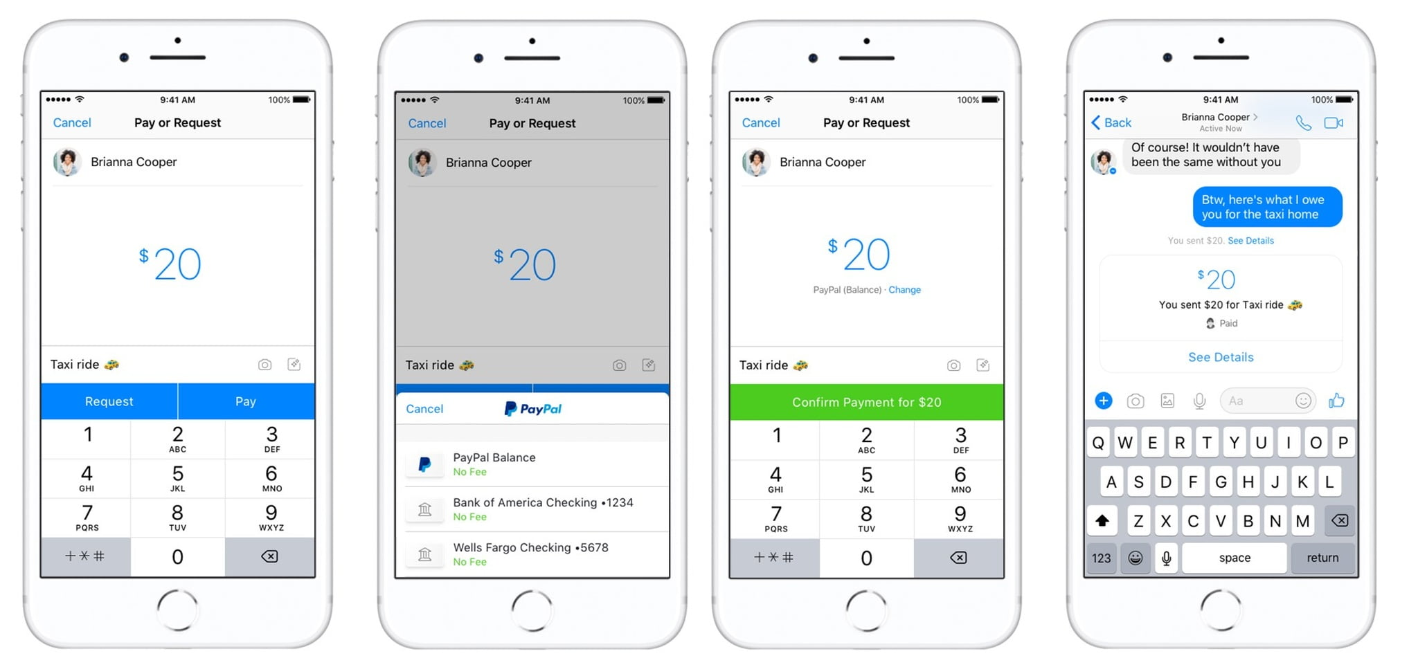 Facebook's Adding PayPal as a New Peer-to-Peer Payment Option in Messenger