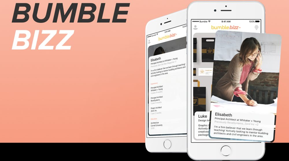 Bumble Bizz App Mixes Small Business Networking -- with