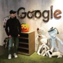 Halloween at Google, Cowboy Android statue & a scary but yummy Google cake