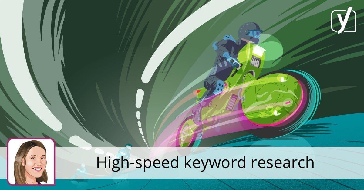 High-speed keyword research • Yoast