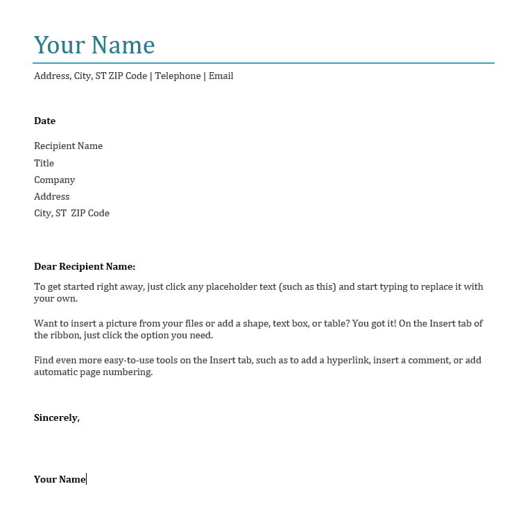 How to Write a Cover Letter for a Job Application | Good To SEO