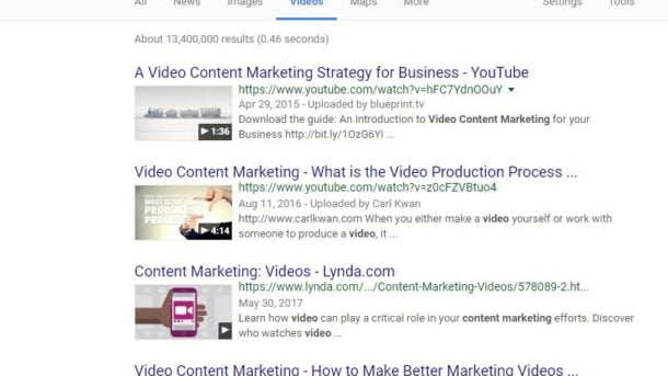 Google videos vs youtube which is the best video search engine october 31 2017 google video google videos seo blog video video optimization video search video search engine video seo youtube 0 comments malvernweather Choice Image