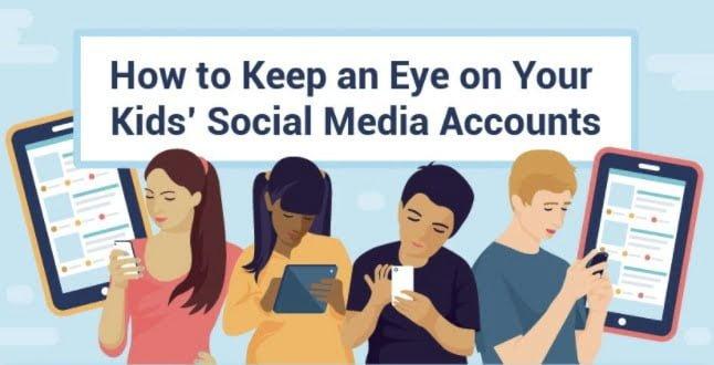 How to Keep an Eye on Your Kids' Social Media Accounts
