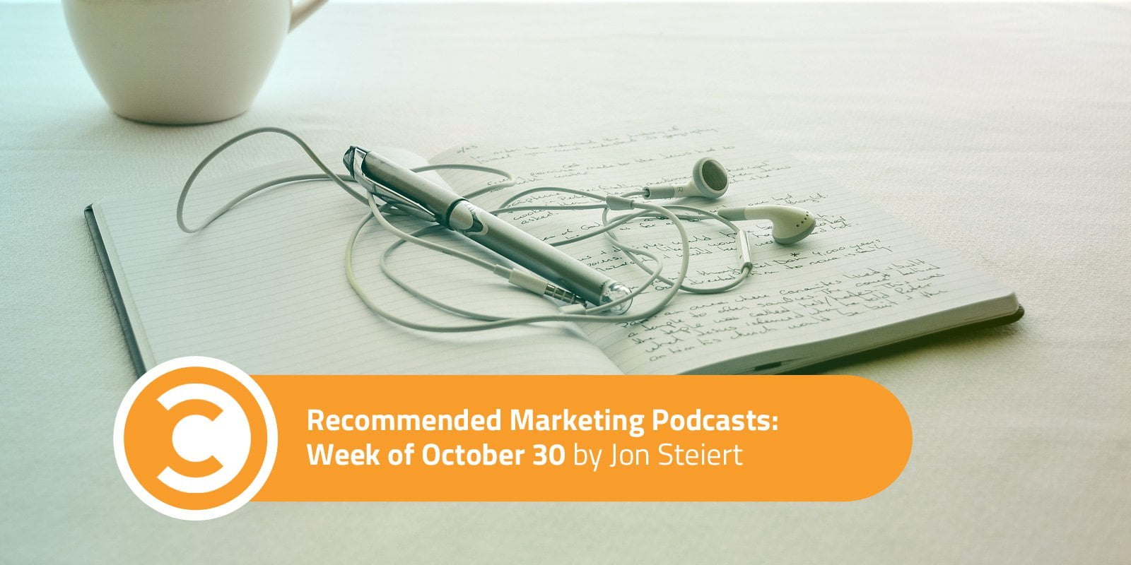 Recommended Marketing Podcasts: Week of October 30