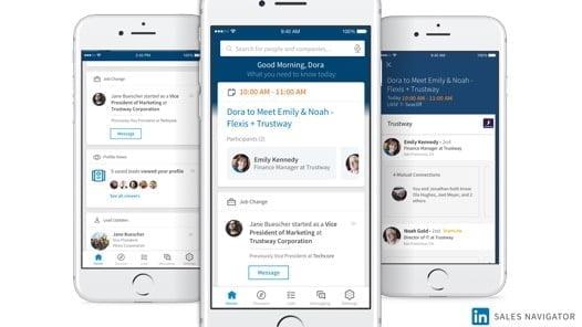 LinkedIn Announces Updates to Sales Navigator App, New Outlook Integration