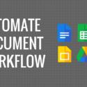 Automatically Create Documents using Google Spreadsheet