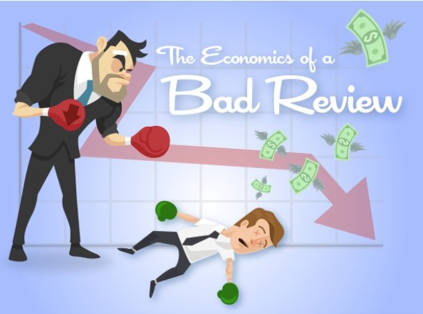The Economics of a Bad Review [Infographic]