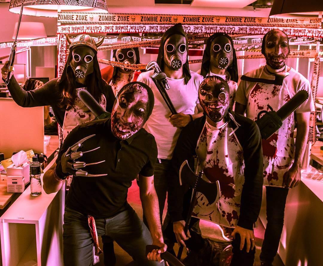 SEOs dress up as Google algorithm, zombies, horses & Mr. Spock