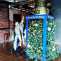 Google Christmas tree in a police box, office ski lift & who's working