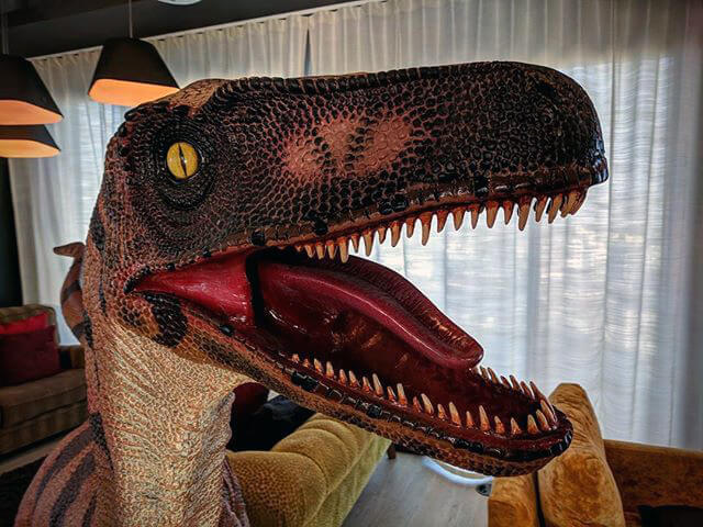 Search in Pics: Google's Velociraptor, playroom & frosty lawn