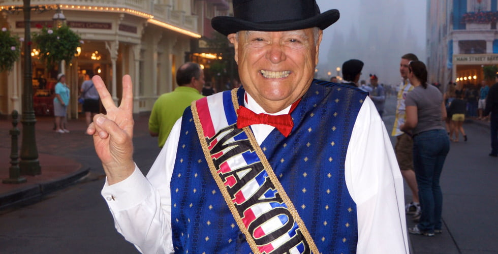 Christopher George Weaver, the 'Mayor of Main Street USA,' passes away