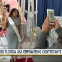 Local Miss Florida USA contestant embracing her unique characteristics