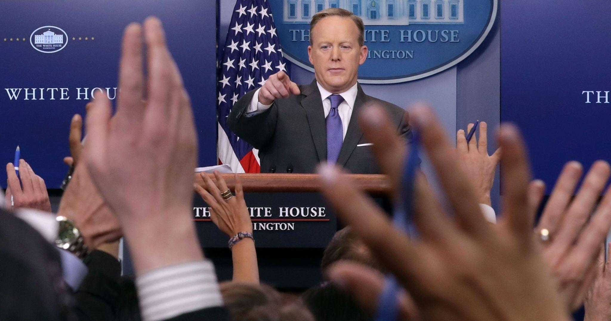 Sean Spicer said he 'screwed up' as press secretary
