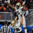 Central Florida completes perfect season with defeat of Auburn in Peach Bowl