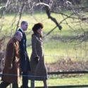 Pregnant Duchess Kate attends Sandringham service