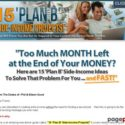 15 'Plan B' Side-Income Projects!