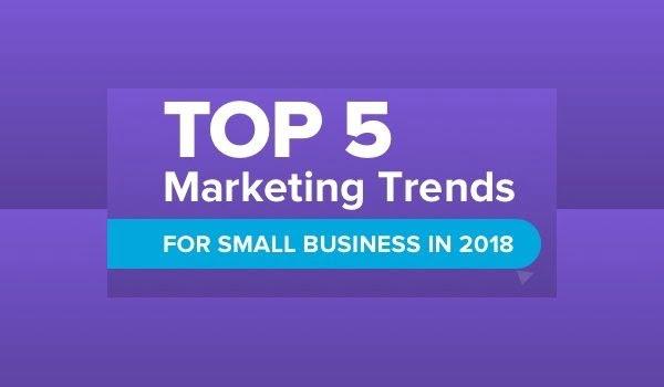 The Top 5 Marketing Trends for Small Business in 2018 [Infographic]