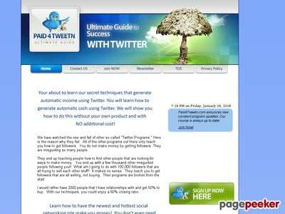Paid4TweetN – The Ultimate Guide to Making Money With Twitter!