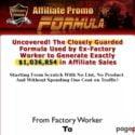 Affiliate Promo Formula