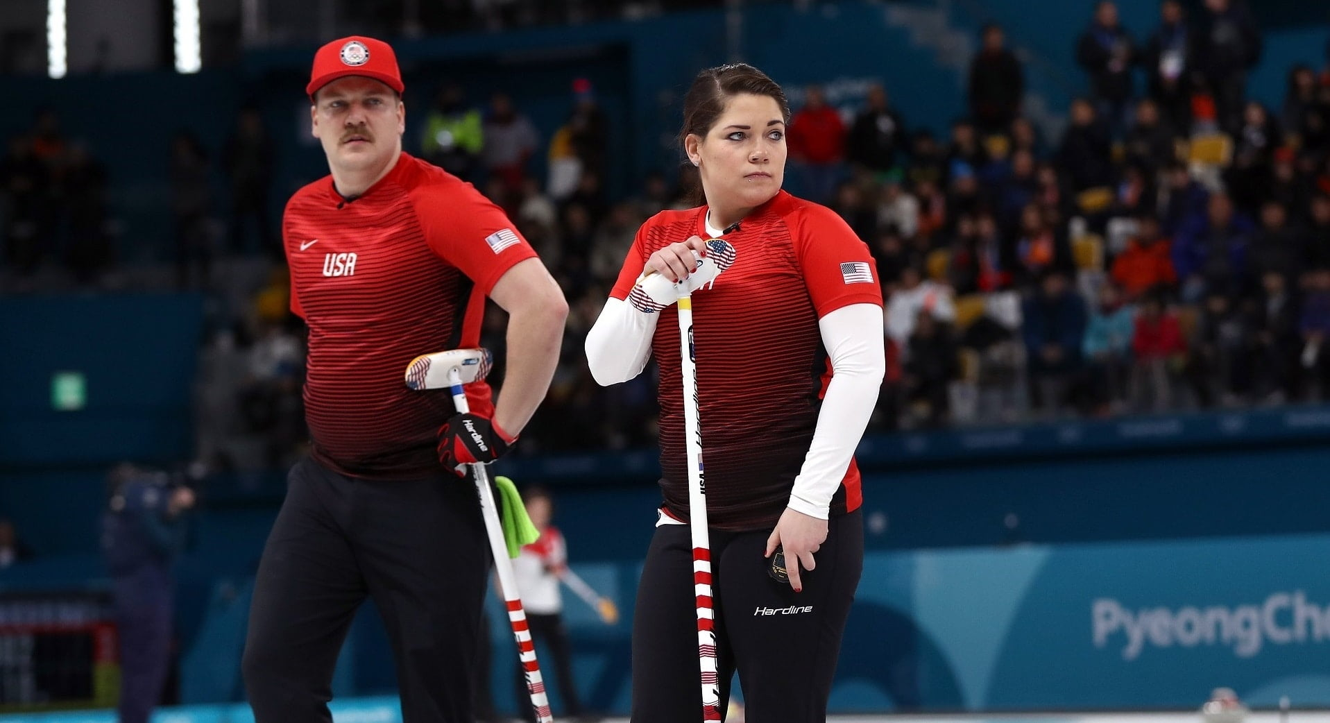 curling and team Ivanka trump cheered on american men's curling team as they snagged a historic first ever olympic gold medal against sweden saturday.