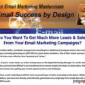Email Success by Design  » Email Marketing Masterclass 2