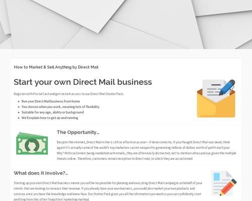 09d4b0d62d Postal.Cash – Home Based Work   Envelope Filling   Envelope Filler ...