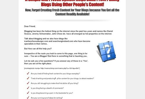 Blog curation blueprint the a z of making money from a curated blog malvernweather Image collections
