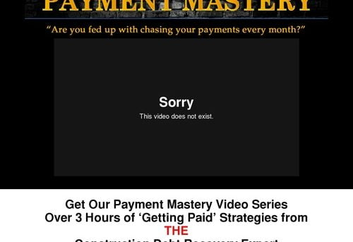Payment Mastery Video Series