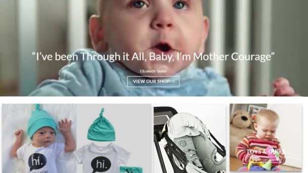 Baby Store Website For Sale - Earn $594 A SALE. Free Domain|Hosting