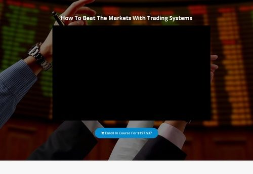 Beat the Markets with Trading Systems   Skilled Academy