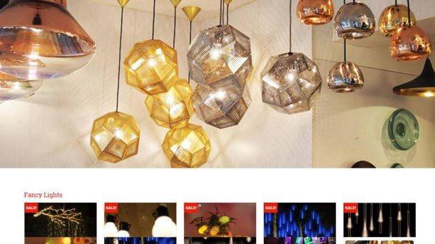 Established Profitable Lighting Store Turnkey DropShip Website Business For Sale