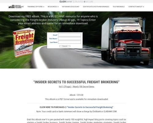 Freight Broker Training - Atex Freight Broker Training