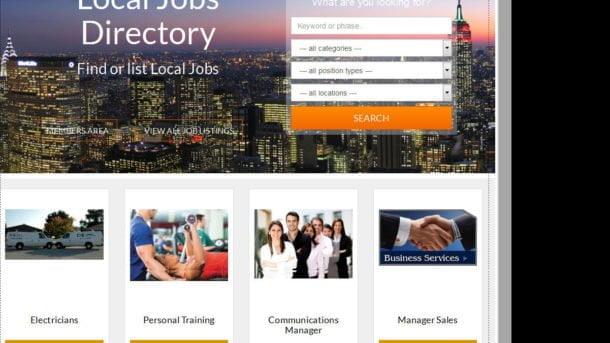 Jobs Board - Website for Sale Hosting Included