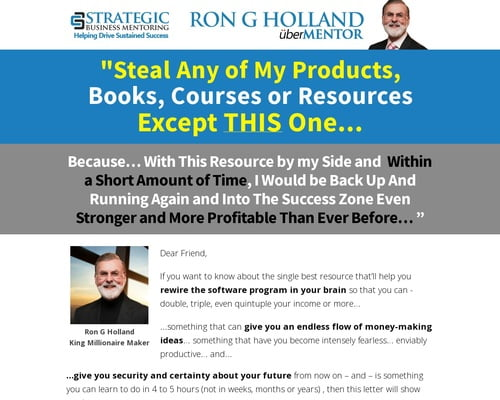 Mind Power Power - Ron G Holland