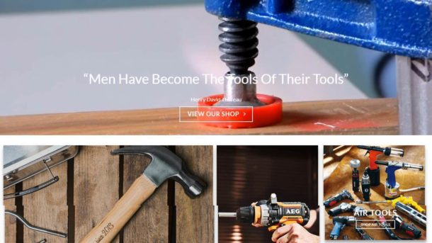 Power Tools Website Business For Sale - Earn $649 A SALE. Domain|Hosting|Traffic
