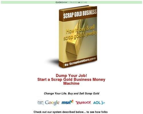 Scrap Gold Business-make Huge Profits