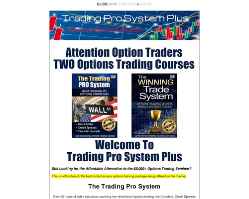 Trading Pro System - Stock Market Options Trading Education | Good ...