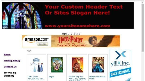 Disney Store Online Business Website For Sale Free Domain,Setup,Bonuses,Plus!