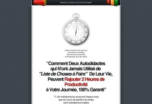 Superproductivite - Prenez Le Controle Absolu De Votre Temps