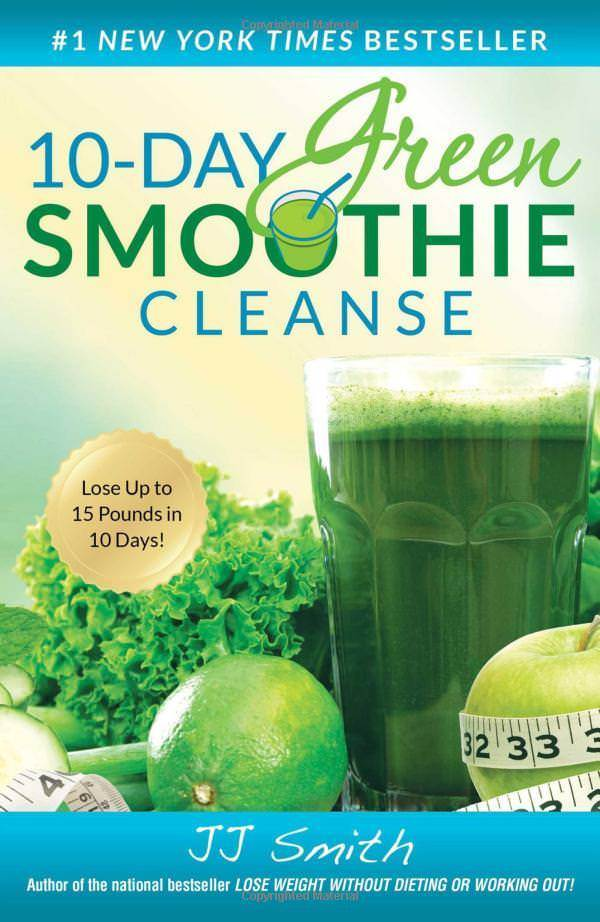 10-Day Green Smoothie Cleanse by JJ Smith Detoxes & Cleanses Paperback NEW