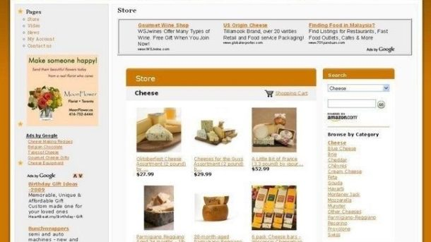 Established Cheese Gourmet Online Business Website For Sale, Great Income Biz!