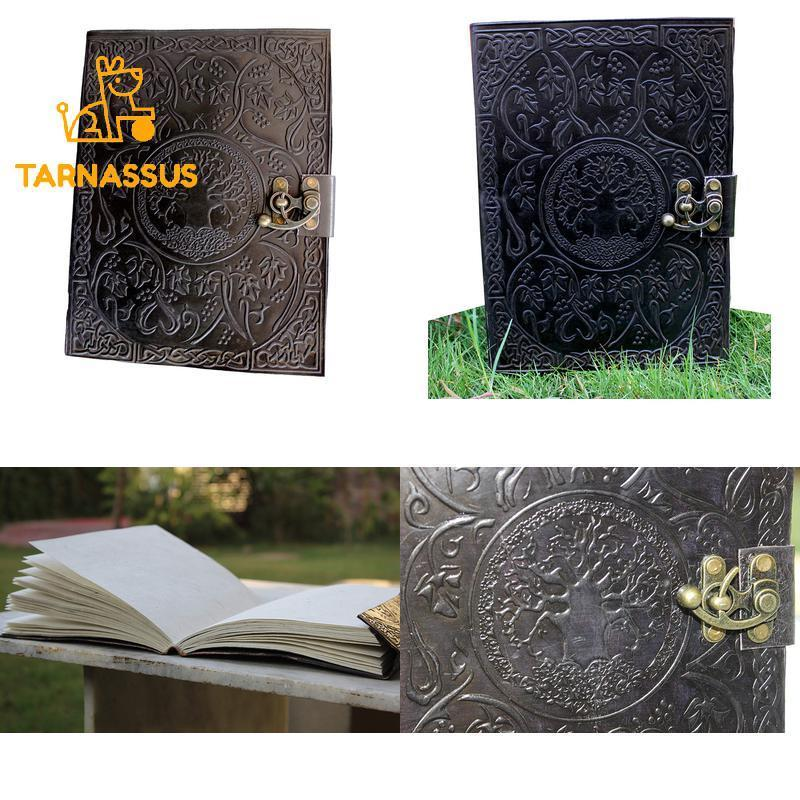 Handmadecraft Large Tree Of Life Leather Journal Diary Notebook For Writing Leat