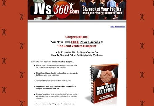 JVs360.com - Skyrocket Your Profits Using The Power Of Joint Ventures