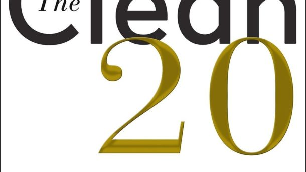 The Clean 20: 20 Foods, 20 Days Total by Ian K. Smith M.D. 2018 Hardcover NEW