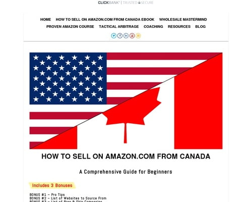 learn how to sell on amazon