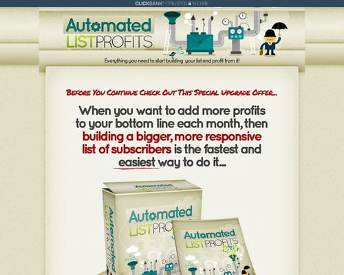 Alprofits Everything You Need To Build A List And Profit From It