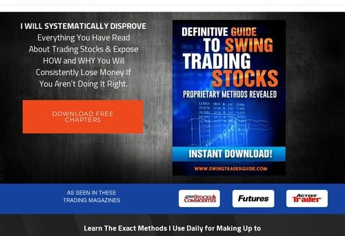 #1 Swing Trading Course |  Swing Trading – FREE DOWNLOAD – Swing Trading Course reveals how to find the most profitable stock trades. Learn proven and time tested trading methods.