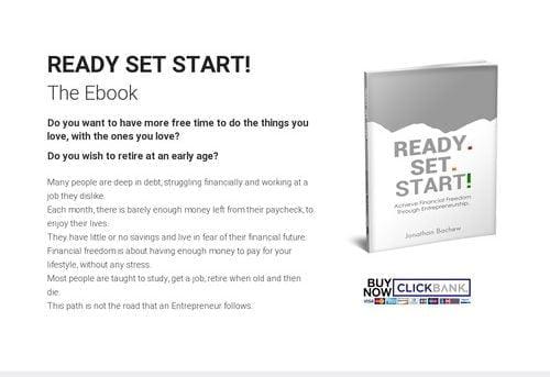 READY SET START – The Ebook