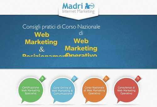 WEB MARKETING  » Strategie di Marketing online & SEO - Video e Corsi